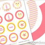 Printable Cupcake Toppers a..